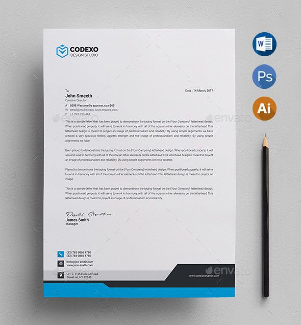 Psd Letterhead Template Free Format Download Professional Paper From Onlinep Company Letterhead Template Free Letterhead Template Word Letterhead Template Word