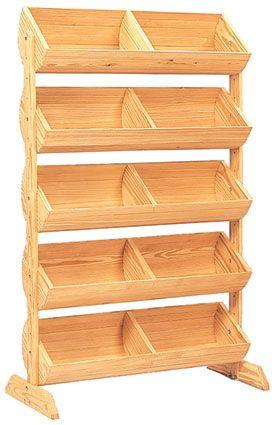 retail basket display for food | Barrel Display :: Wood Baskets & Barrels Displays :: Wood Displays ...
