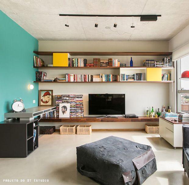 +6 ideas for TV stands #decor #livingroom #hometheater #casa