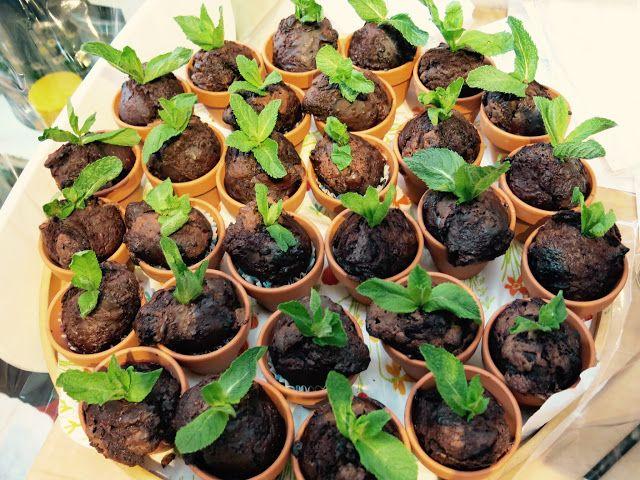 maartjetaartje: in bloempotjes gebakken - notenvrije - chocolademu...