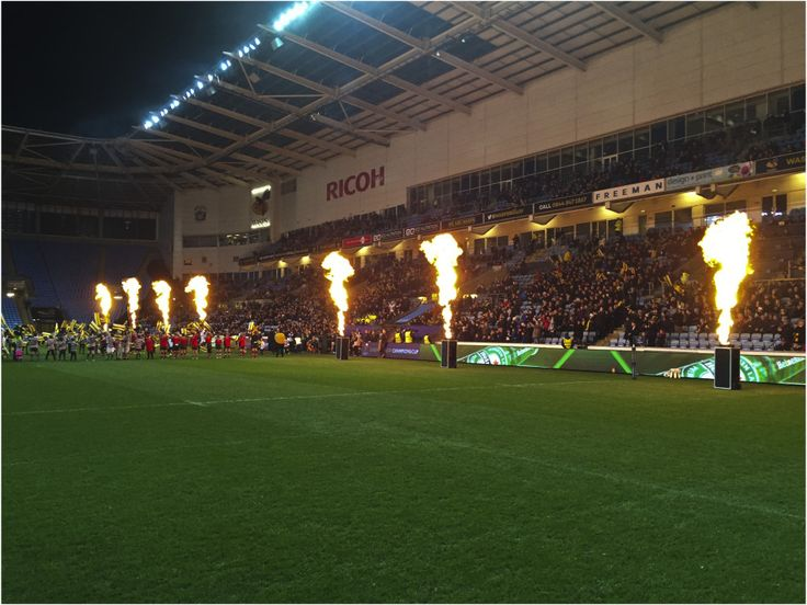 Player Entrance Flames For Wasps RFC