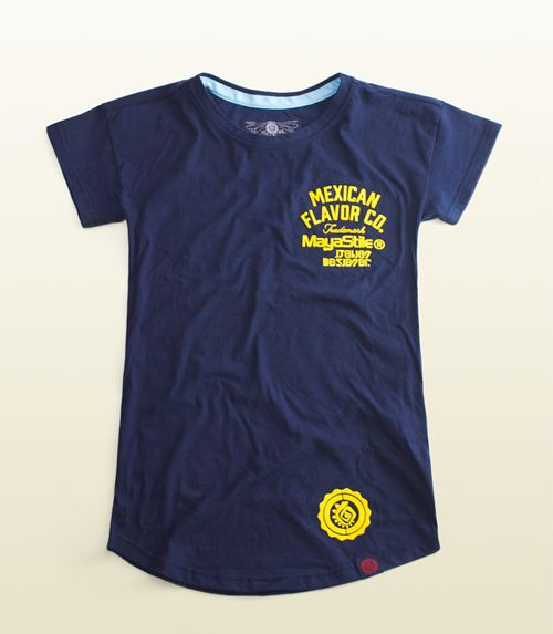 Women's Mayastile Athletic logo T-shirt, Mexican apparel, Colors blue navy, cool fashion girls, 100% Cotton. Playera Mujer Mayastile logotipo deportivo, ropa mexicana, color marino, 100% Algodón. #TEE #TSHIRT #Graphictee #hechoenmexico #Casual #fashion