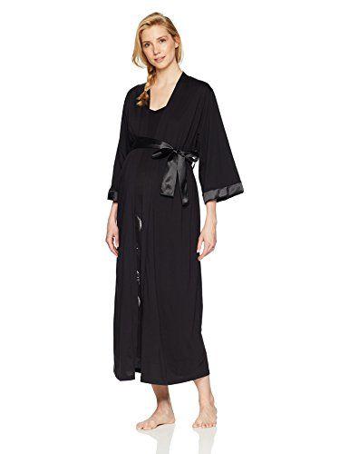 1a46096465f38 Love Lounge Wear Women's Moon Goddess Maternity and Nursing Nightie/Robe Set