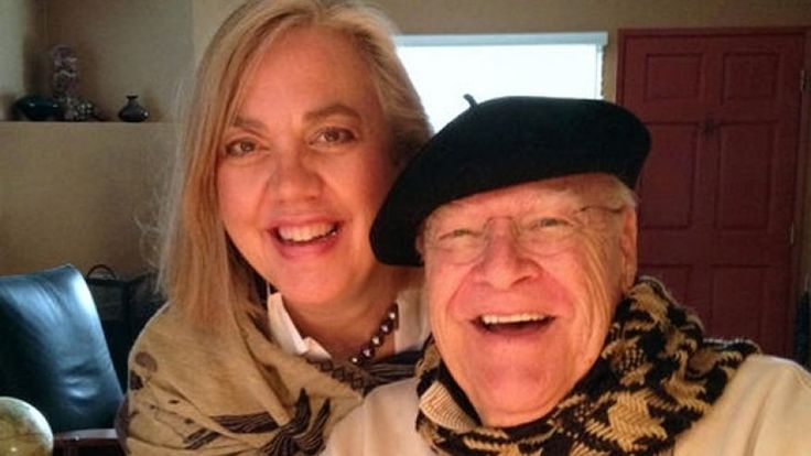 This undated photo provided by Sarah C. Koeppe, shows David Huddleston and his wife Sarah C. Koeppe.