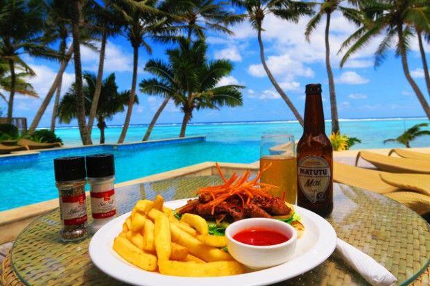 Food in Rarotonga Cook Islands little polynesian resort
