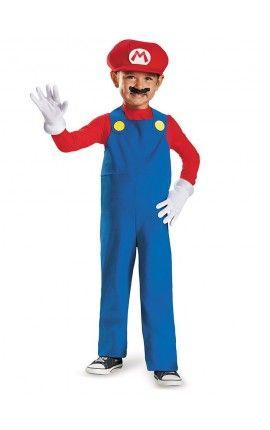 Disfraz de mini Mario Bros prestige para niño