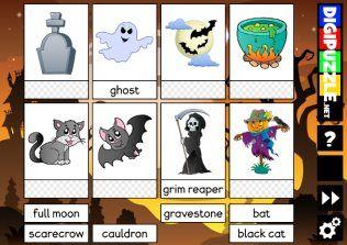 Halloween Word Cards
