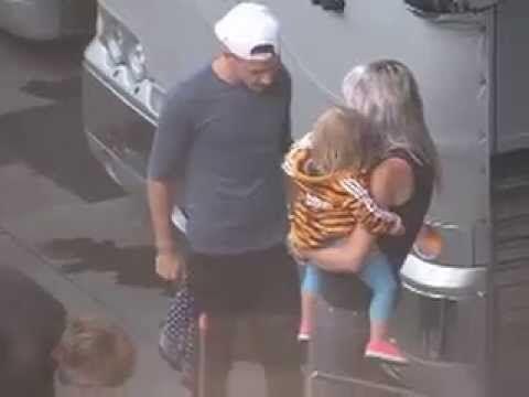 Liam kissing baby Lux in Atlanta SO ADORABLE