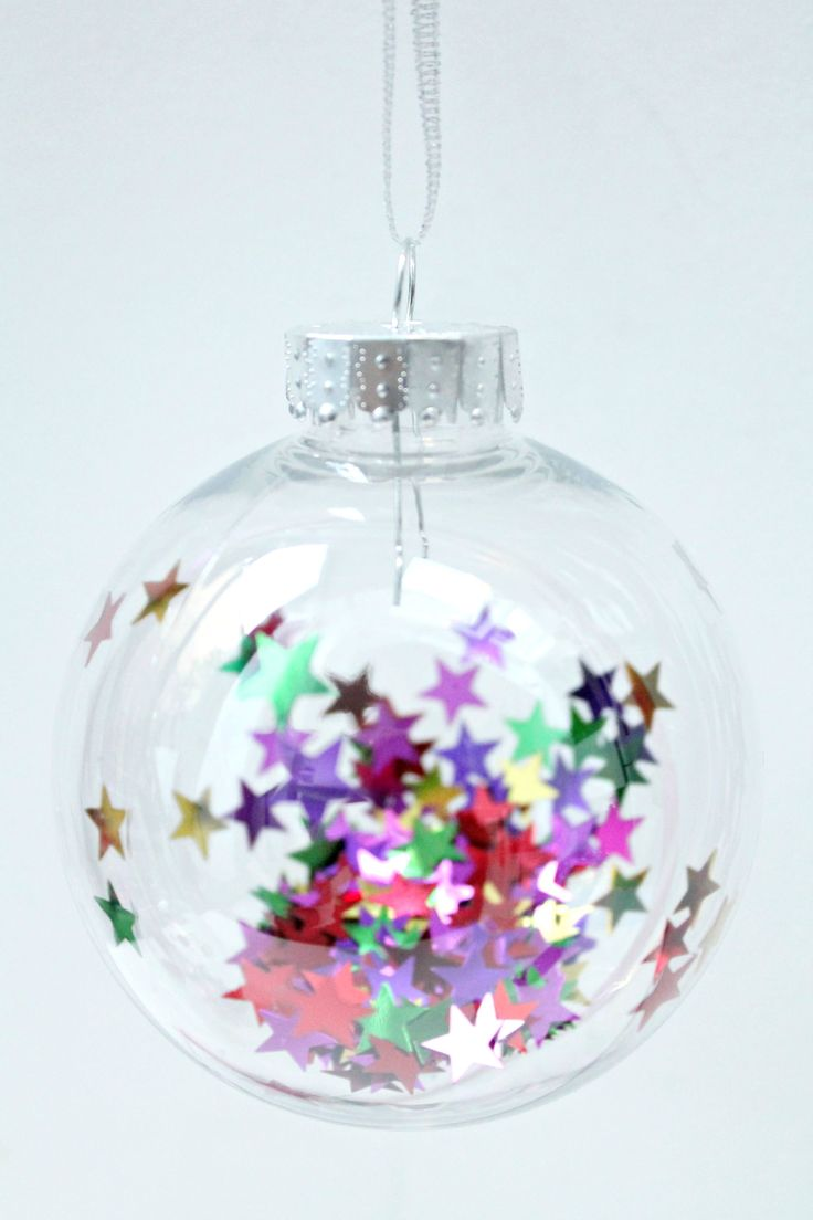 Christmas baubles DIY with the family.                                                                                                                                                     More