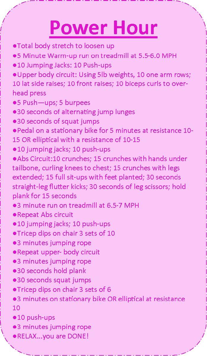 1 Hour Workout At Home | Workout Everydayentropy.Com