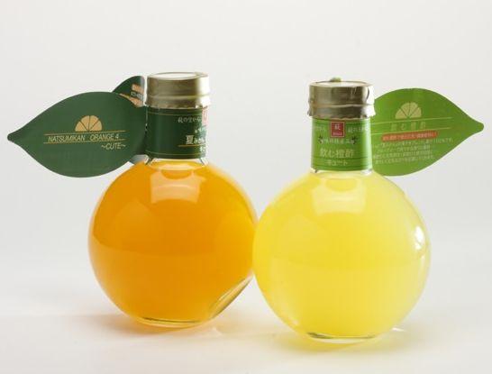 Another very original juice packaging design.