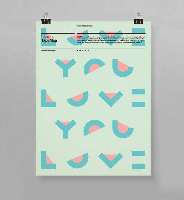 TapeMag by Ilya Naumoff, via Behance