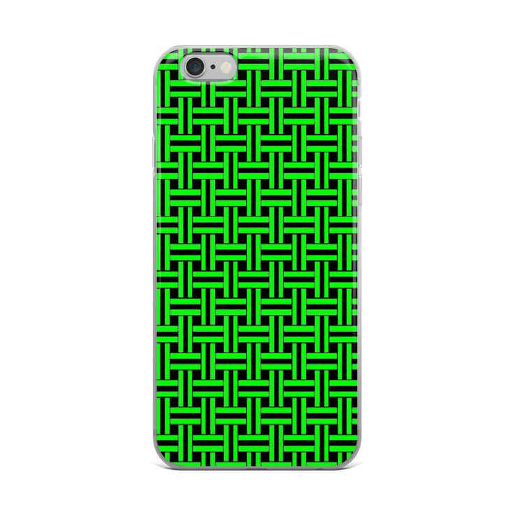 Excited to share the latest addition to my #etsy shop: Green Maze Lines iPhone X Case   Repetitive Pattern iPhone case   Colorful iPhone 6 case   Trendy iPhone 7 case   Geometry iPhone 8 case http://etsy.me/2ojSMd5 #accessories #case #cellphone #iphonexcase #repetitive
