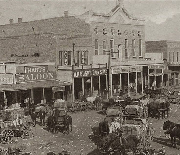 Greenville Texas In The 1880s Pinteres