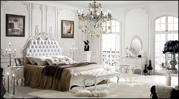 French Provincial Look Style Bedrooms Marie Antoinette Theme