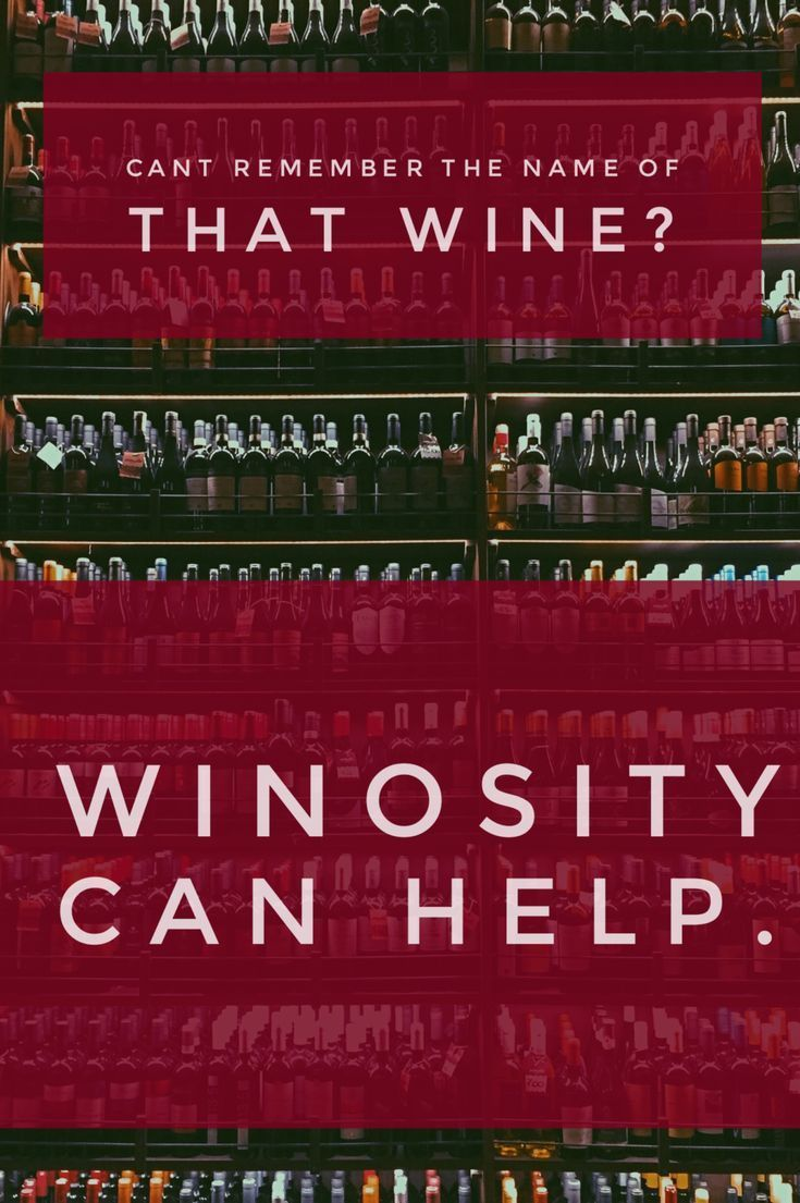 Winosity Will Be The App That Lets You Keep Track Of Your New Favorite Wines And Why You Love Them Track All Of T Wine Knowledge Wine Guide Wine Tasting Party