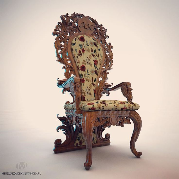 91 отметок «Нравится», 3 комментариев — мерзляков (@denismerzliakov) в Instagram: «Completed a project. #chair #furniture #design #designer #artwood #3dmodel #modeling #zbrush…»