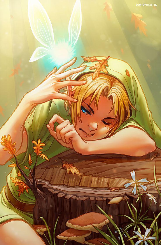 """The Legend of Zelda: Link and annoying ass Navi... """"Hey, listen!"""" No beyatch!!"""