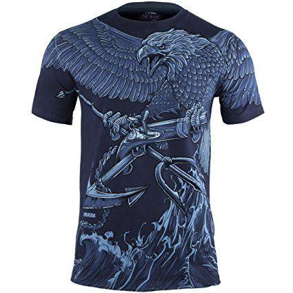 7.62 Design Uomo USN Seals Naval Special Warfare T-Shirt Navy Blu taglia XXL
