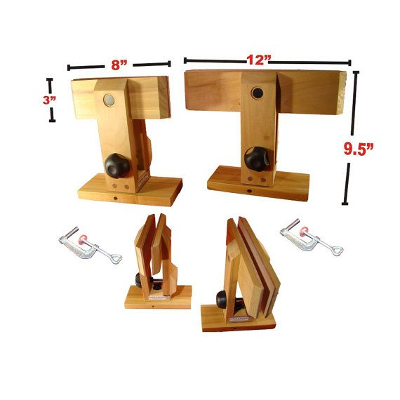 8/12 inch wing Leather craft Lacing Stitching Pony by NxStuff