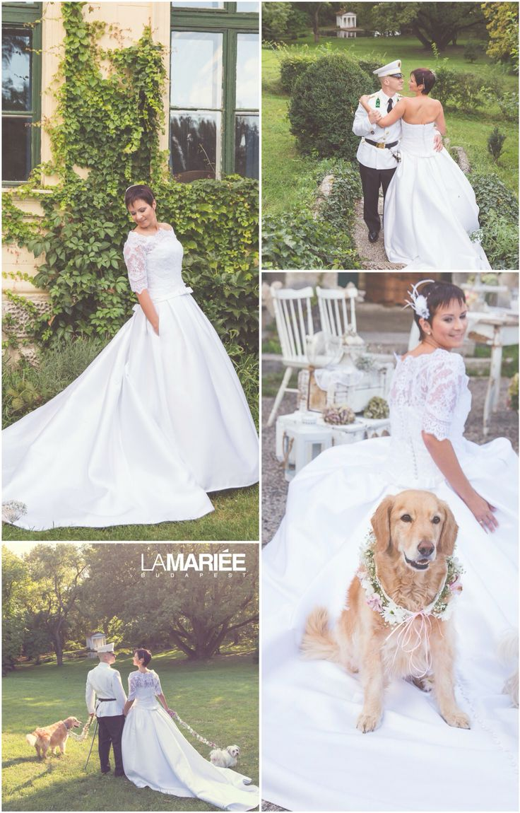Baronda esküvői ruha - Pronovias - Éva  menyasszonyunk  http://mobile.lamariee.hu/eskuvoi-ruha/pronovias/baronda_2