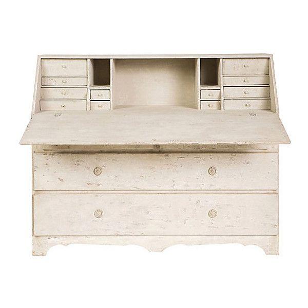 lisa marie secretary whitewash cabinets u0026 hutches liked on polyvore