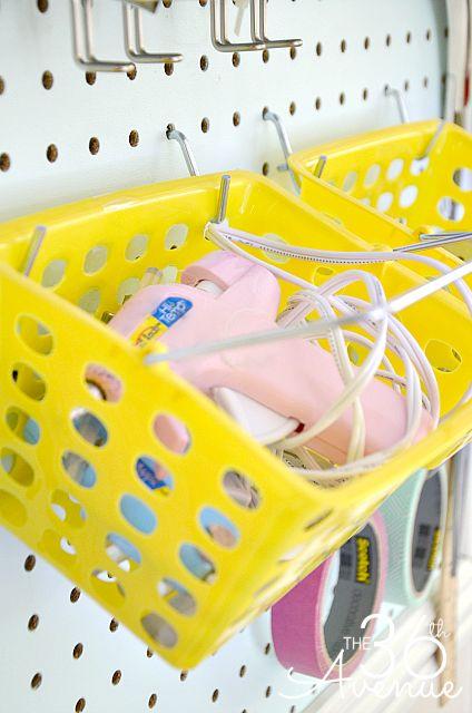 DIY Peg Board Accessories at the36thavenue.com