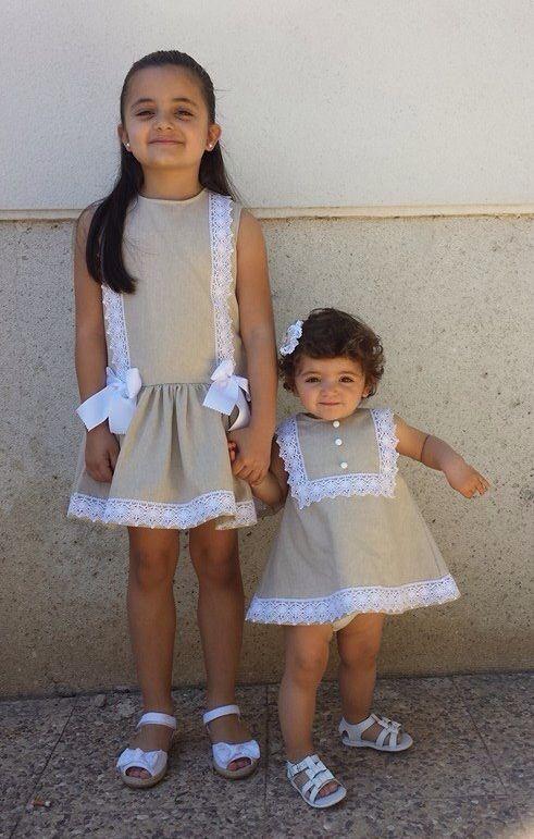 Vestidos niñas realizados en www.factorychic.es