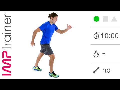 Esercizi di Stretching Post Corsa o Camminata Veloce - YouTube