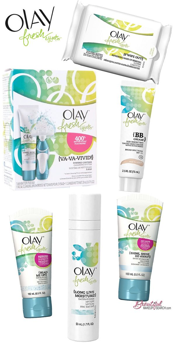 Olay Fresh Effects.