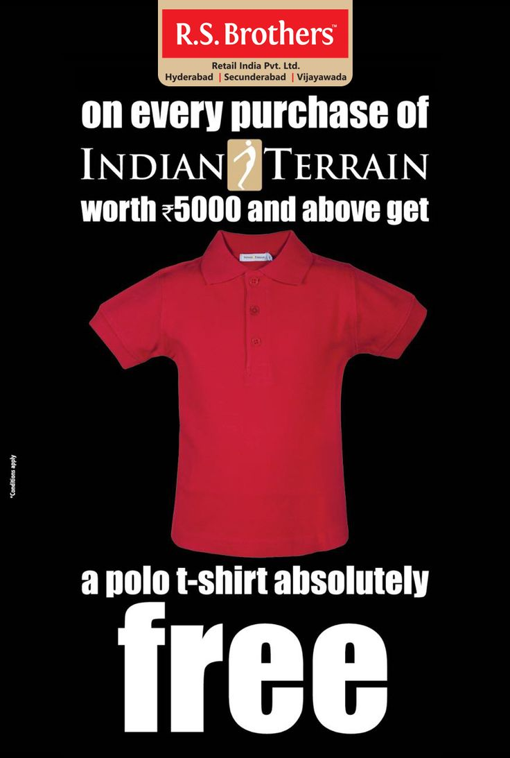 Now or never Shopping offers @RSBrothers!!  ‪#‎Offers‬ on ‪#‎AllenSolly‬, ‪#‎VanHeusen‬, ‪#‎LouisPhilippe‬, ‪#‎Wrangler‬ & ‪#‎IndianTerrain‬. Grab it before today, Before some others do!!