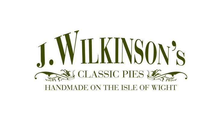 Logo and packaging design for an award winning pie and savoury company based on the Isle of Wight.