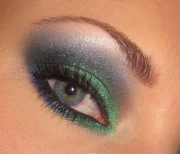 Get this look with our new kiwi eye shadow ...