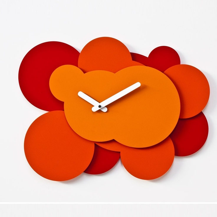 15 best reloj de pared images on pinterest wall clocks - Reloj de pared moderno ...