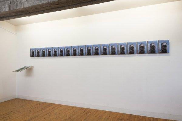 Moataz Nasr, Qasr El-Nile, 2011, 18 photographs on aluminium, 29 x 23 cm each. Galleria Continua Beijing, 2012. Photo by Oak Taylor-Smith.