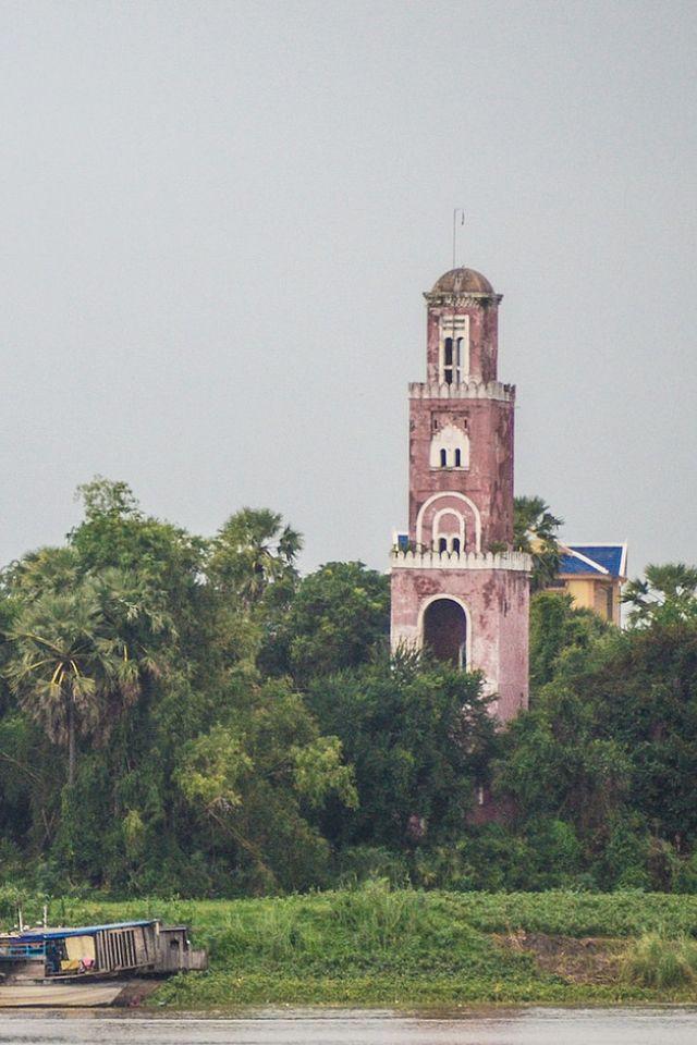 #Lighthouse of Kampong Cham, #Cambodia  - by Tim Willems      http://dennisharper.lnf.com/