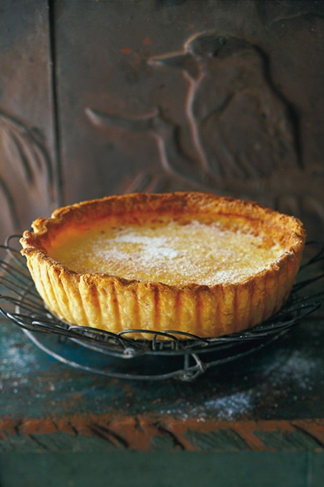 Recipe: Maggie Beer's lemon tart: Maggie Beer shares a recipe from her new book with Vogue Living.