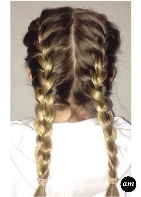 Amber McNiff | Beauty and Fashion Blog: Hair Tutorial: French Plait Pigtails