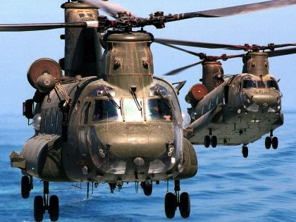 Boeing-Vertol-CH-47 HD Wallpaper - Helicopters Wallpapers