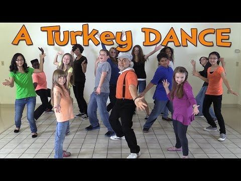▶ Thanksgiving Songs for Children - A Turkey Dance - Dance Songs for Kids by The Learning Station.  A fun break for your kids this holiday season.  3 minute video.  Watch at:  https://youtu.be/J4-jnIYRx3Q
