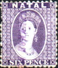 Natal 1863 Queen Victoria SG 23 Good Used SG 23 Scott 16 Condition Good Used Only one post charge applied on multiple purchases Details N B With over