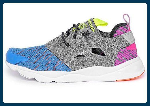 Reebok Schuhe – Furylite Contemporary blau/rosa/gelb Größe: 38.5 - Sneakers für frauen (*Partner-Link)
