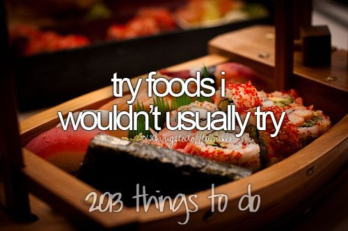 2013 Things to do