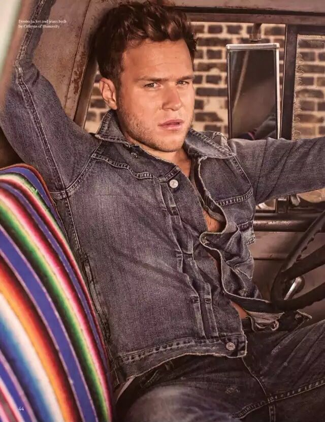 Olly in the November/December issue of UK gay lifestyle magazine Attitude