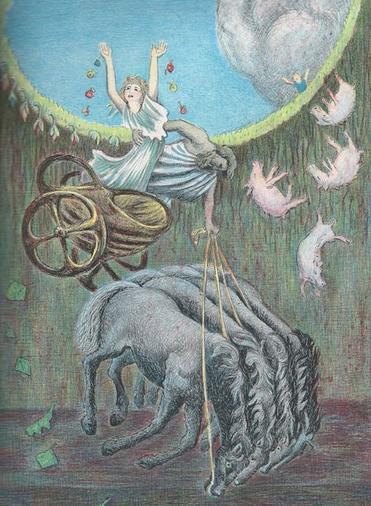 Persephone  - D'Aulaires' Book of Greek Myths