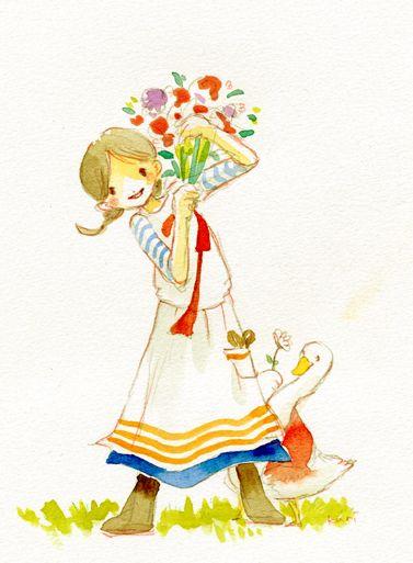 "Eriko Kurita (In the Pocket), ""おはなやさん"" (""Flower Seller"")"