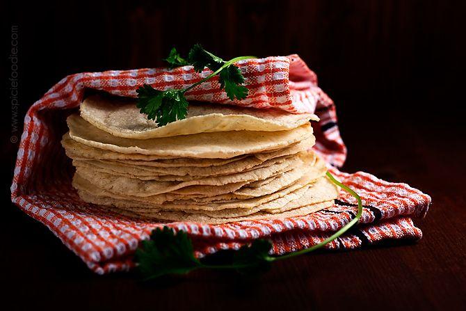 Wordless Wednesday: Homemade Corn Tortillas | Spicie Foodie Gluten Free Mexican Tortilla Recipe