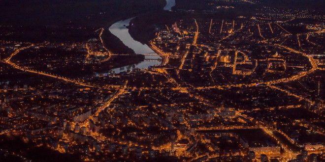 Szegedi éjszaka a levegőből - Világutazó