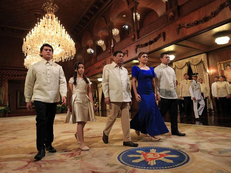 Rodrigo Duterte Sworn in as 16th President
