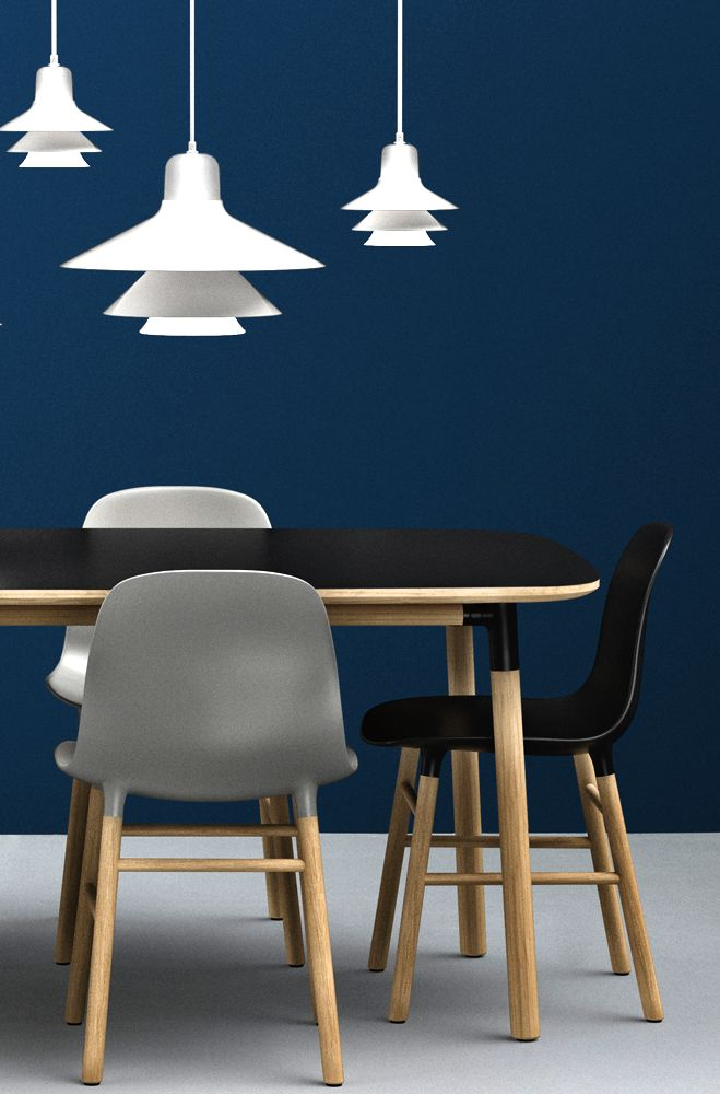 via new normann copenhagen 2014 form chair dining room pinterest. Black Bedroom Furniture Sets. Home Design Ideas